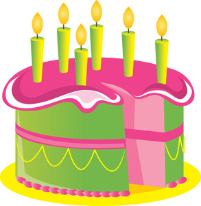 Free clip art birthday cake image freeuse download Pink Birthday Cake Clipart - Clipart Kid image freeuse download