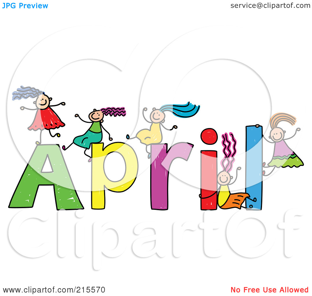 Free clip art for april graphic download Free april clipart - ClipartFest graphic download