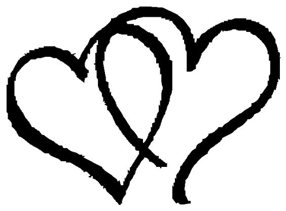 Free clip art hearts black and white free clip art for hearts | Heart Clip Art 1 | Free Clipart Images ... black and white