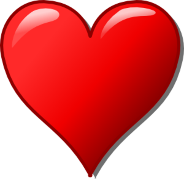 Smiling heart clipart png royalty free Free Heart Clip Art | Heart Clipart image - vector clip art online ... png royalty free