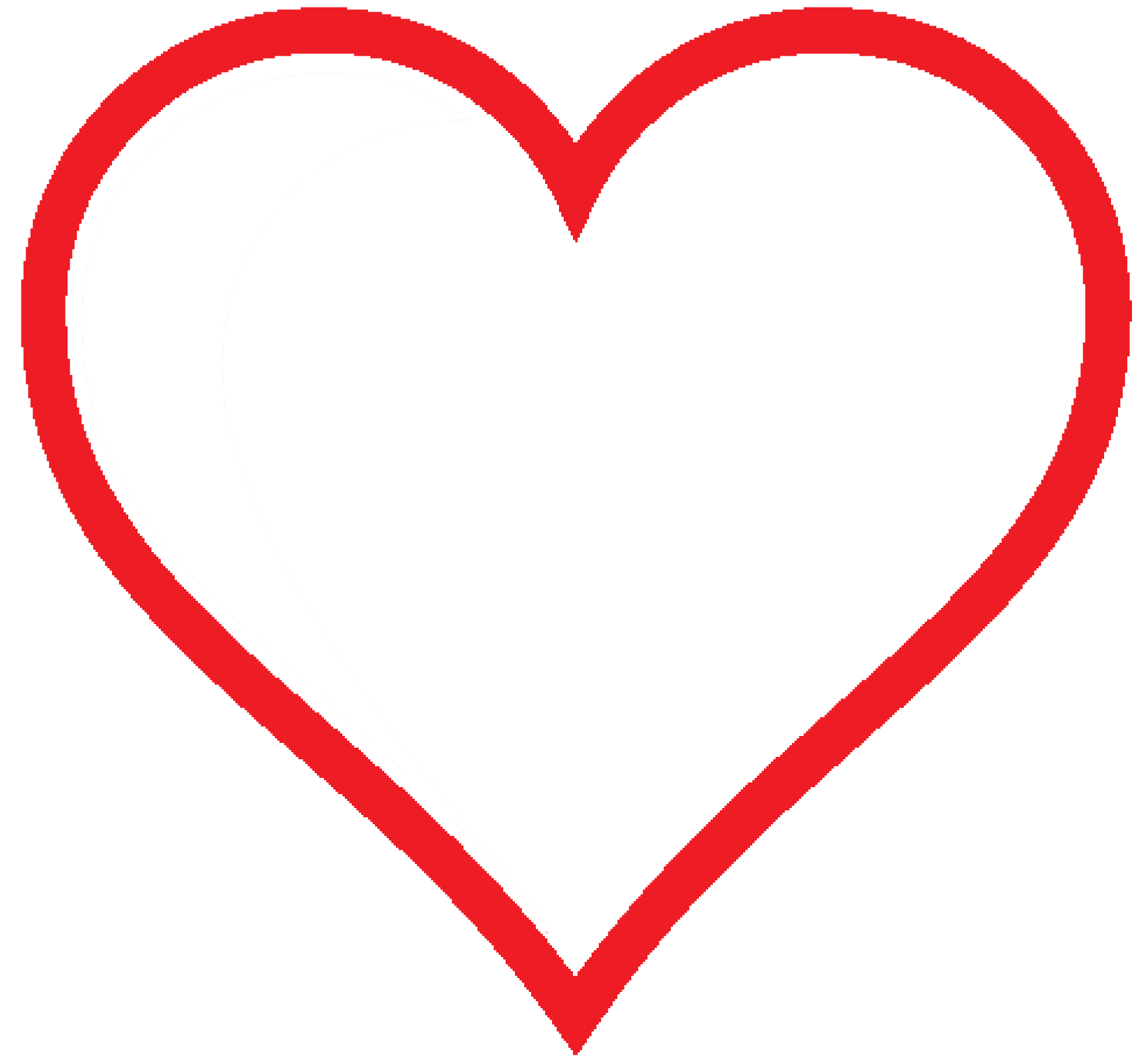 Free clipart valentine heart clip freeuse library Simple Heart Clipart at GetDrawings.com | Free for personal use ... clip freeuse library