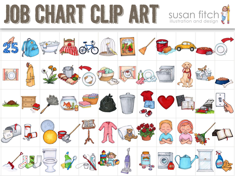 Free clip art jpeg jpg stock COMMERCIAL LICENSE for Job Chart Clip Art | Clip art, Graphics and ... jpg stock