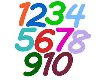 Free clip art numbers 1 10 freeuse stock Clipart numbers 1-10 - ClipartFest freeuse stock
