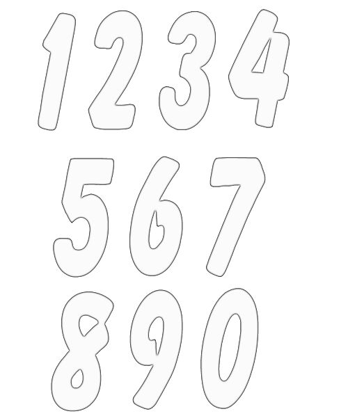 Free clip art numbers 1 10 vector library library Free to use and share clipart numbers 1 10 | ClipartMonk - Free ... vector library library