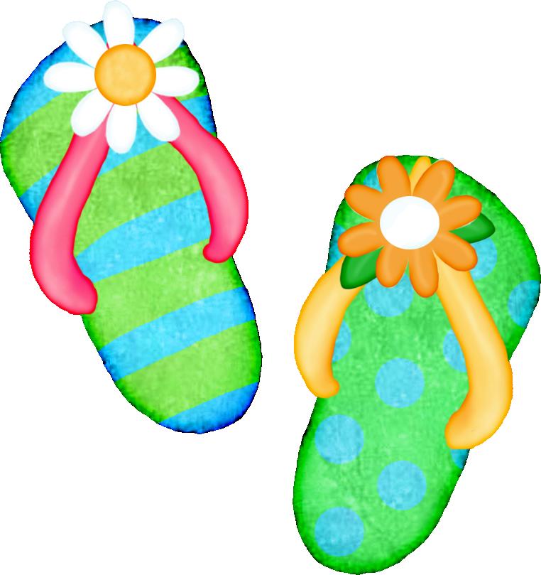 Flower flip flops clipart. Freeclip art flop clip