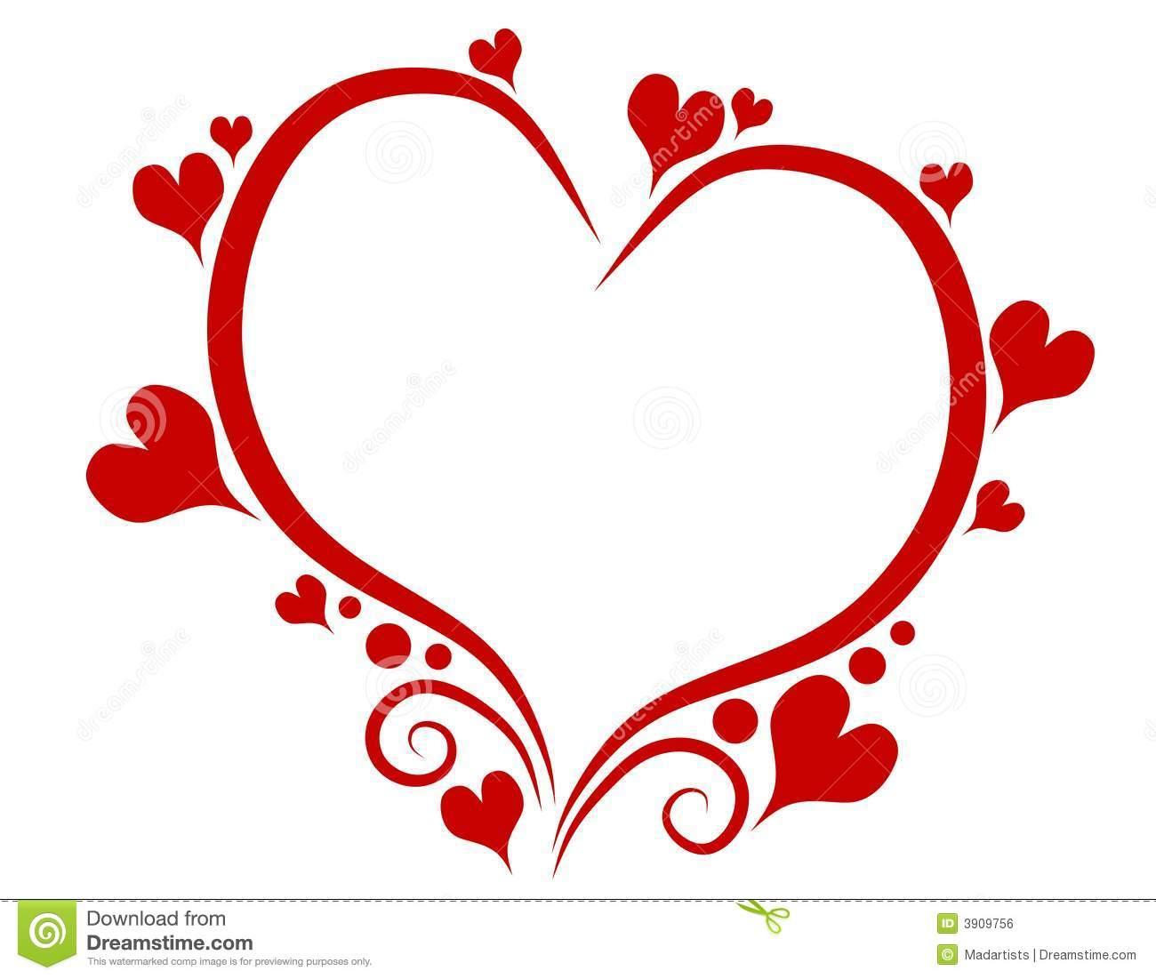Free clip art valentines hearts jpg royalty free stock Valentine heart clipart free - ClipartFest jpg royalty free stock