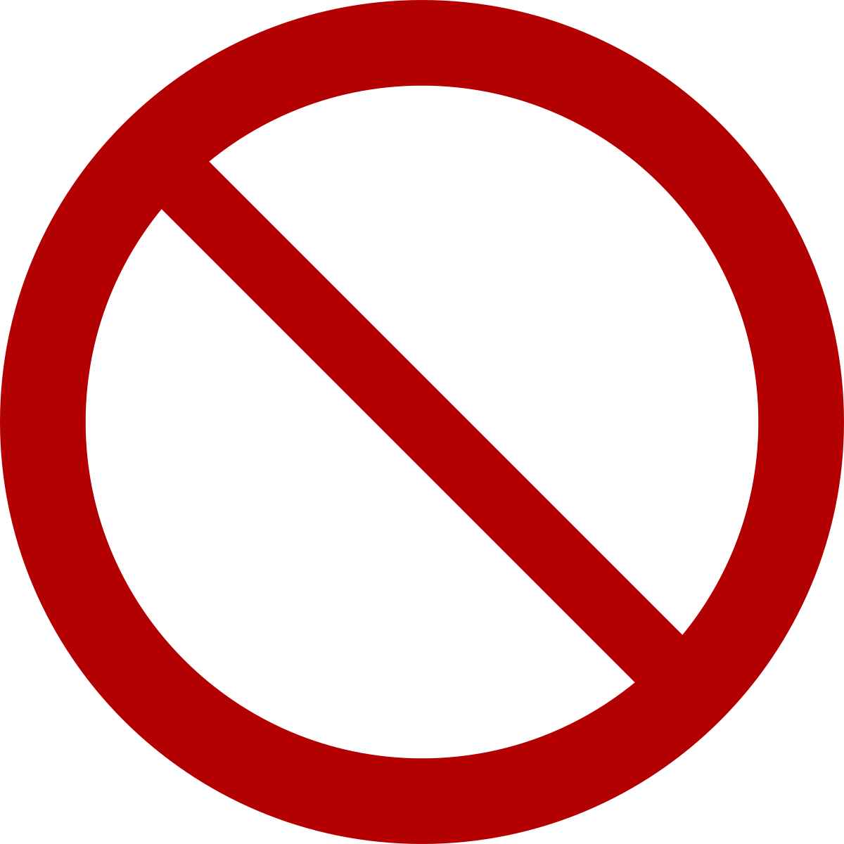 Free clipart 21 and under not allowed sign svg No symbol - Wikipedia svg