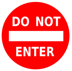 Free clipart 21 and under not allowed sign jpg freeuse stock Do Not Enter Sign Clip Art at Clker.com - vector clip art online ... jpg freeuse stock
