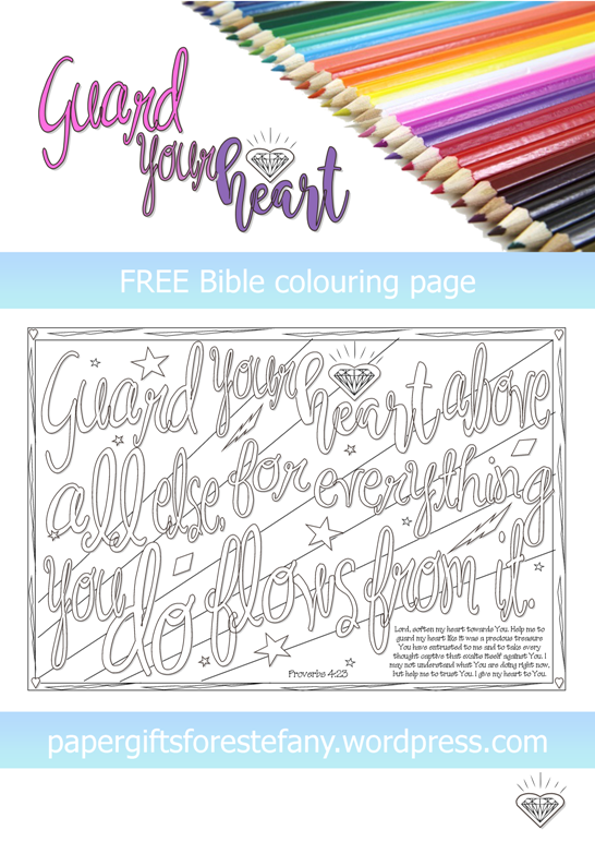Free clipart 23rd psalm verse 3 coloring pages clip art transparent stock FREE Scripture Doodles 2 ~ Old Testament | Paper Gifts for Estefany clip art transparent stock