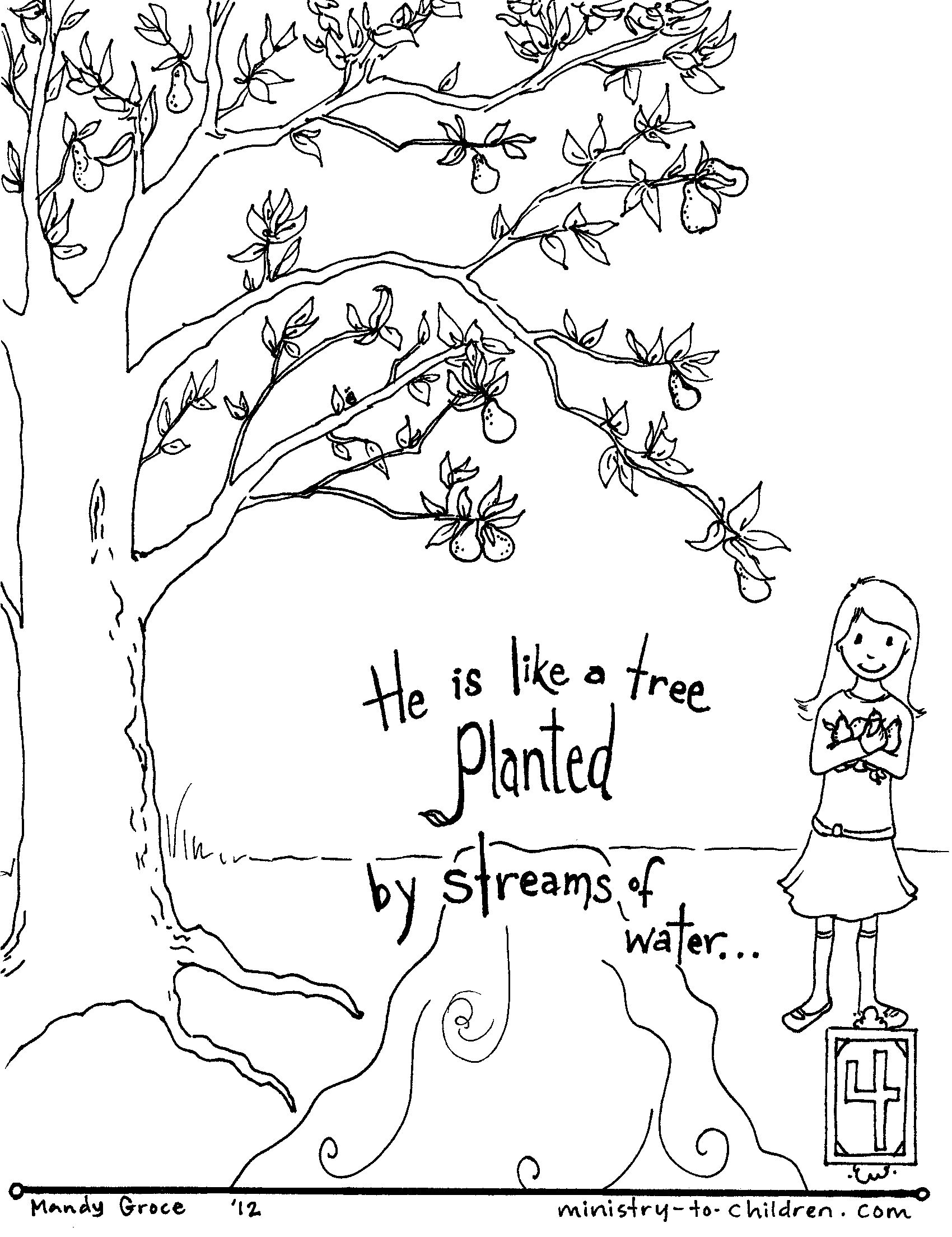 Free clipart 23rd psalm verse 3 coloring pages. Page bible journaling inspiration