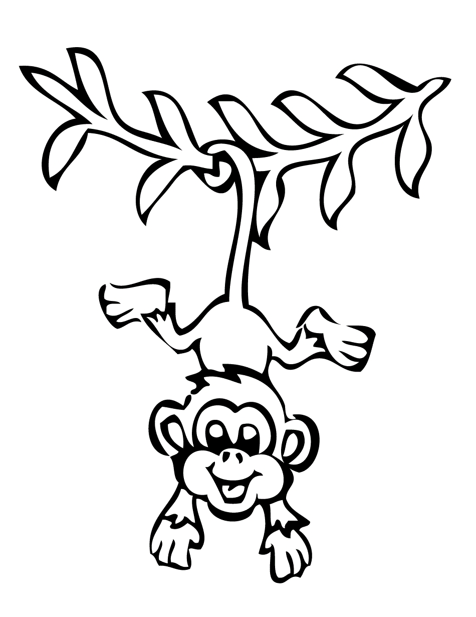 Coloring pages for olds. Free clipart 6 year old in black and white