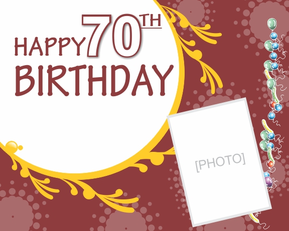 Free clipart 70th birthday graphic black and white library Happy 70th Birthday Clipart - Clipart Kid graphic black and white library