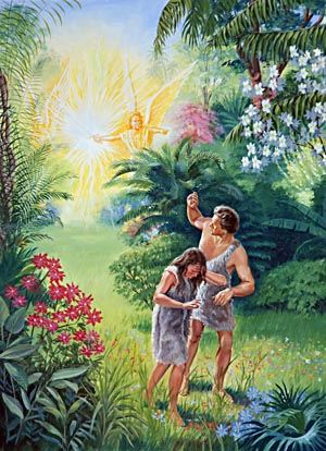 Free clipart adam and eve cast out of eden vector freeuse garden of eden – Build a Foundation vector freeuse