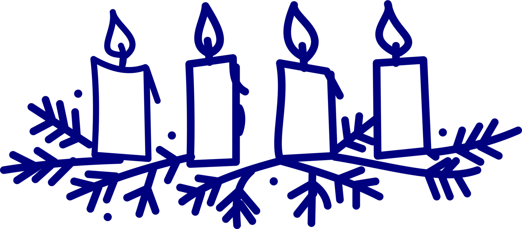 Free clipart advent candles clip transparent library Advent Clipart To Free - Clip Art Advent Candles - Png Download ... clip transparent library