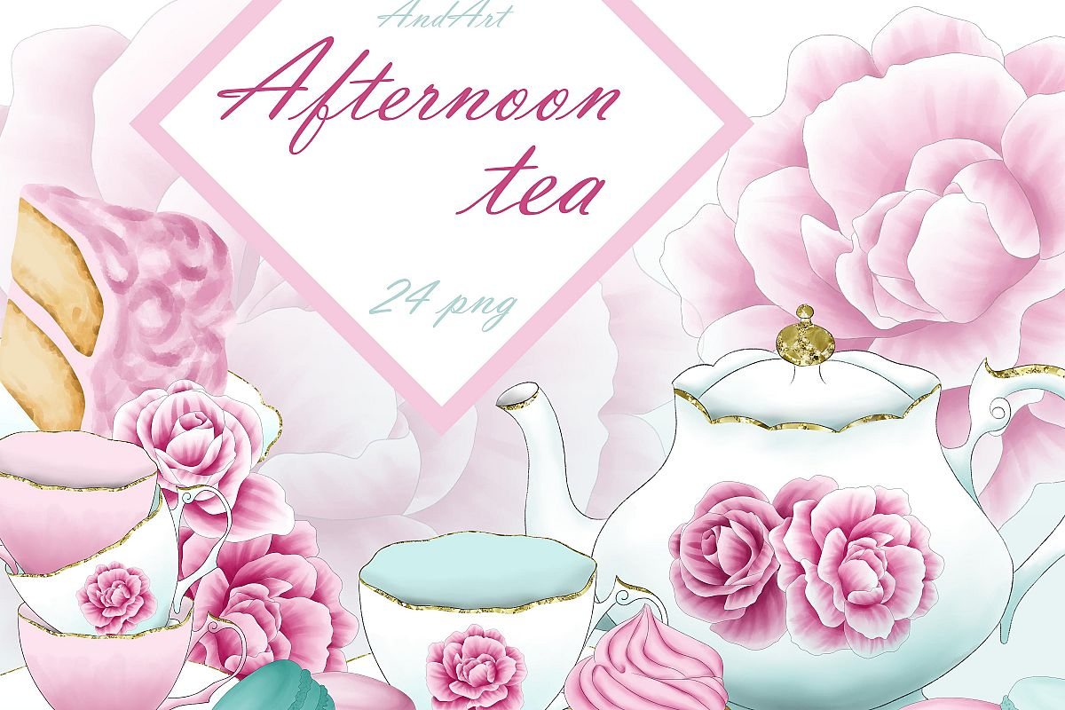 Free clipart afternoon tea picture library download Afternoon tea clipart picture library download