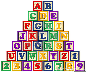 Free clipart alphabet blocks png library download Wooden Alphabet Block Clipart | Free Images at Clker.com - vector ... png library download