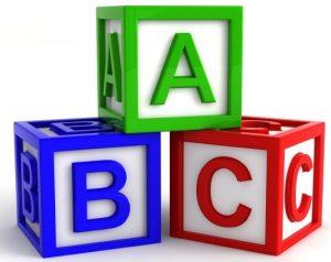 Free clipart alphabet blocks svg black and white Alphabet blocks clipart free 2 » Clipart Station svg black and white