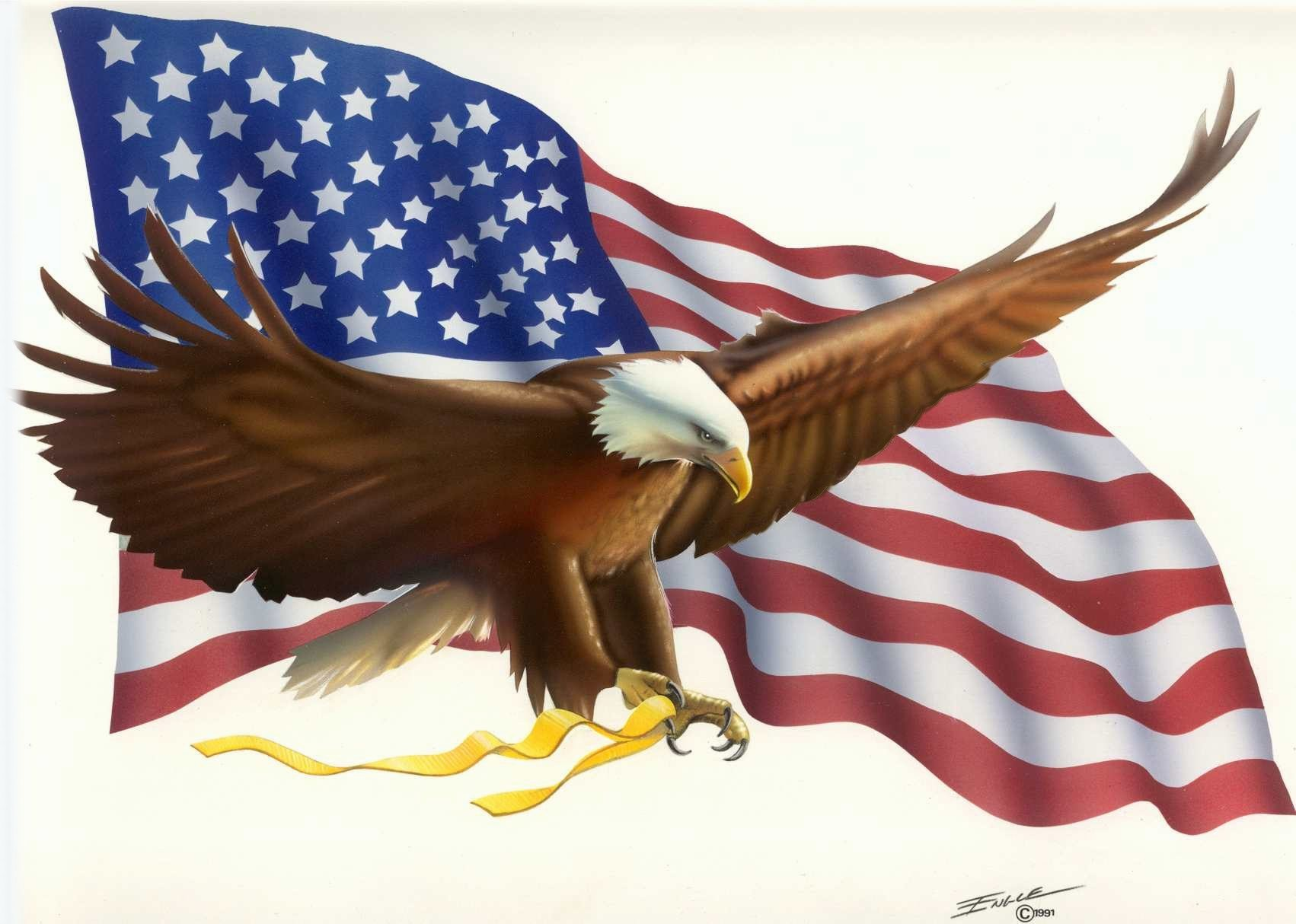 Free clipart american flag and eagle clipart freeuse Eagle Flag Engle Bob | Free Images at Clker.com - vector clip art ... clipart freeuse