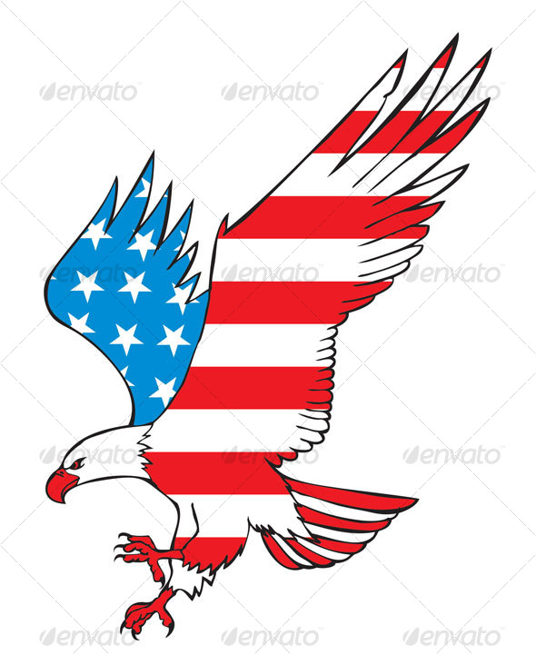Free clipart american flag and eagle picture black and white library Usa Eagle Clipart | Free download best Usa Eagle Clipart on ... picture black and white library