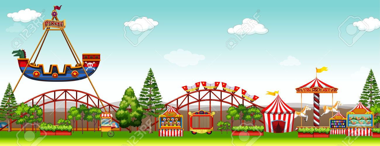 Pin by locklockwhite on. Free clipart amusement park rides
