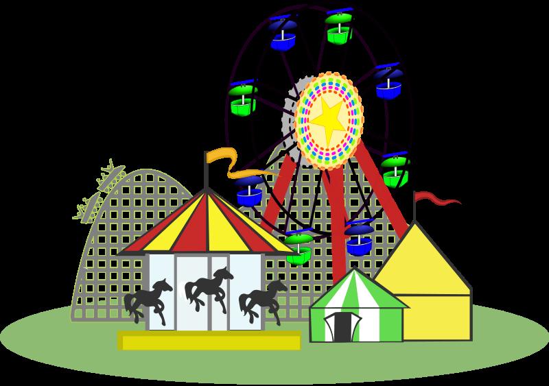 Portal . Free clipart amusement park rides