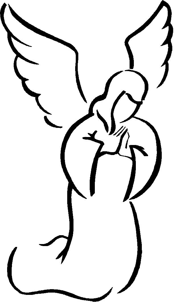 Angel graphics of cherubs. Free clipart angles