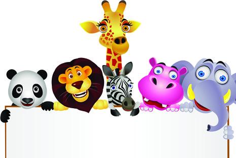 Free clipart animals cartoon clipart freeuse library Cartoon animal clip art free vector download (222,150 Free vector ... clipart freeuse library