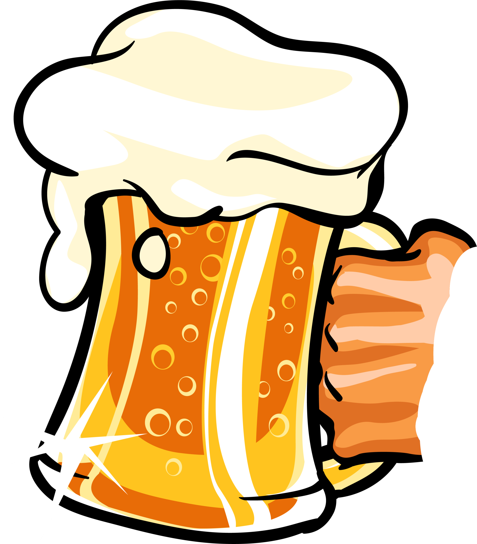 Free clipart apple beer image download Cartoon Drawing Clip art - Yellow cartoon beer 2000*2284 transprent ... image download