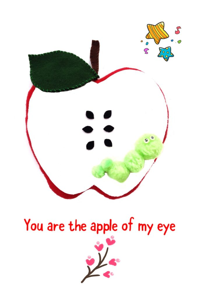 Free clipart apple of my eye picture graphic royalty free free pillow pattern you\'re the apple of my eye - Sew Cute Patterns ... graphic royalty free