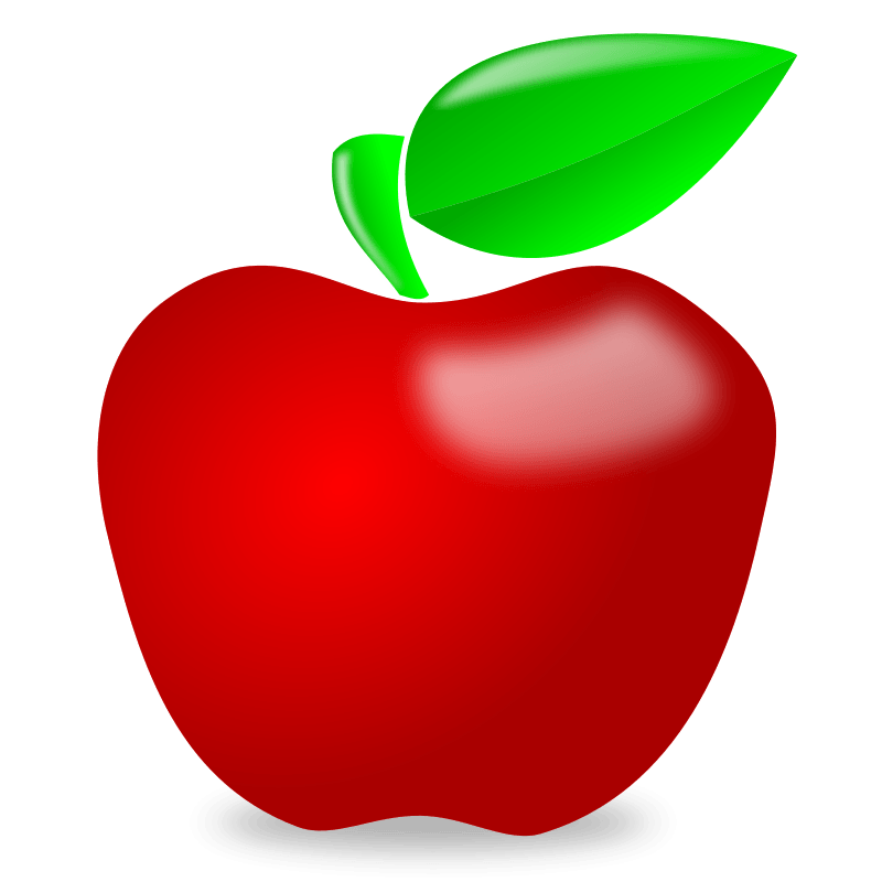 Free clipart apple row. Of apples images gallery