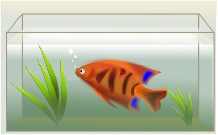 Free clipart aquarium vector library download Water Cartoon Tank Fish Color Colorful Animal Aquarium clip arts ... vector library download