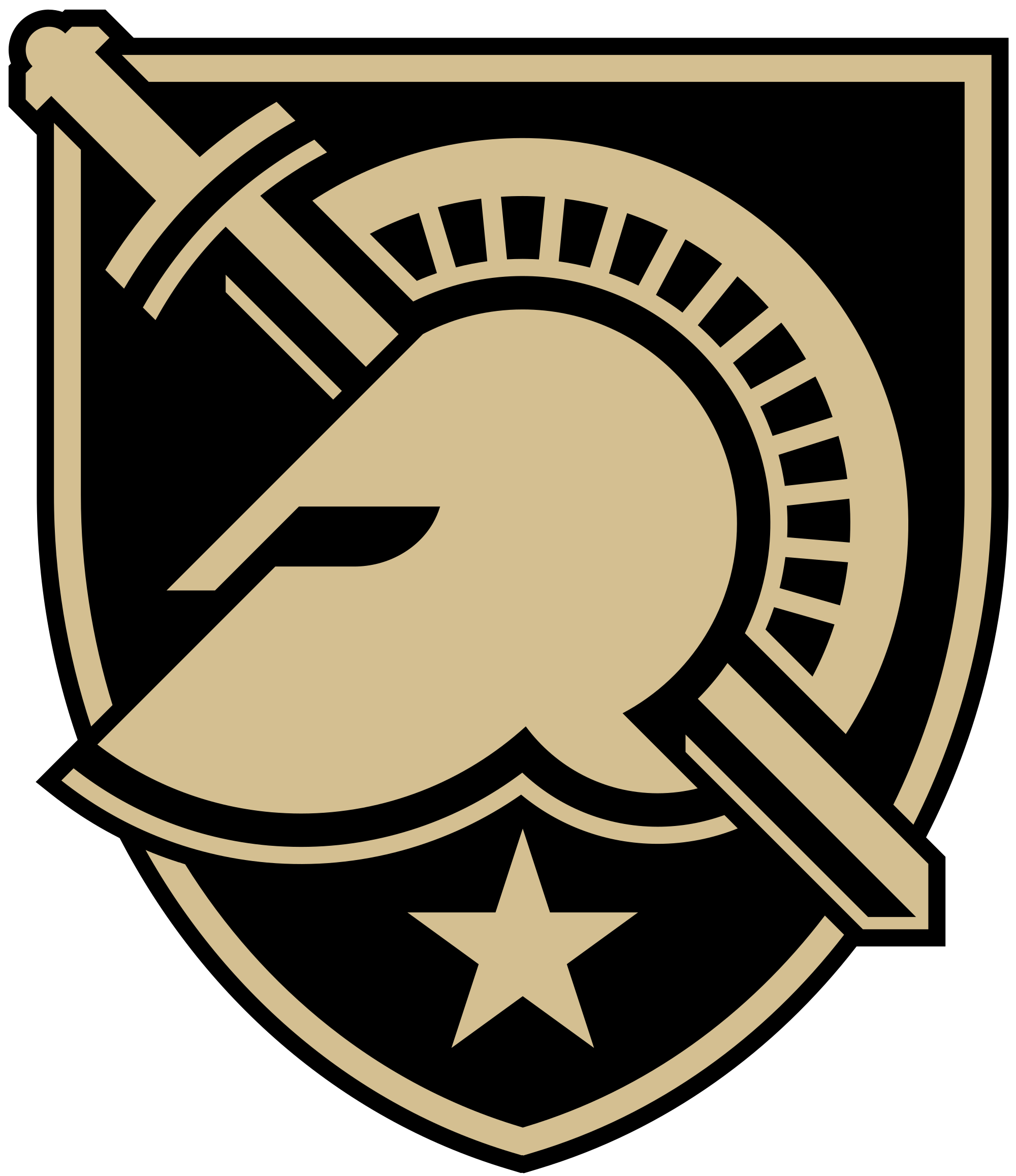 Free clipart army vs navy football vector freeuse download File:Army West Point logo.svg - Wikimedia Commons vector freeuse download