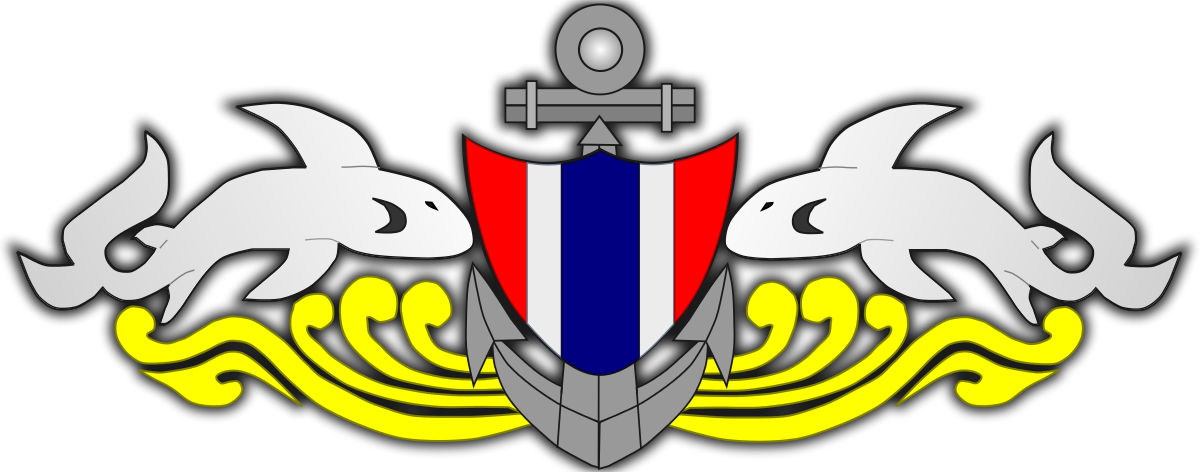 Free clipart army vs navy football banner black and white stock Naval Special Warfare Command (Thailand) - Wikipedia banner black and white stock
