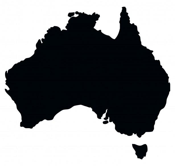 Free clipart australia vector free Australia Map Clipart Free Stock Photo - Public Domain Pictures vector free