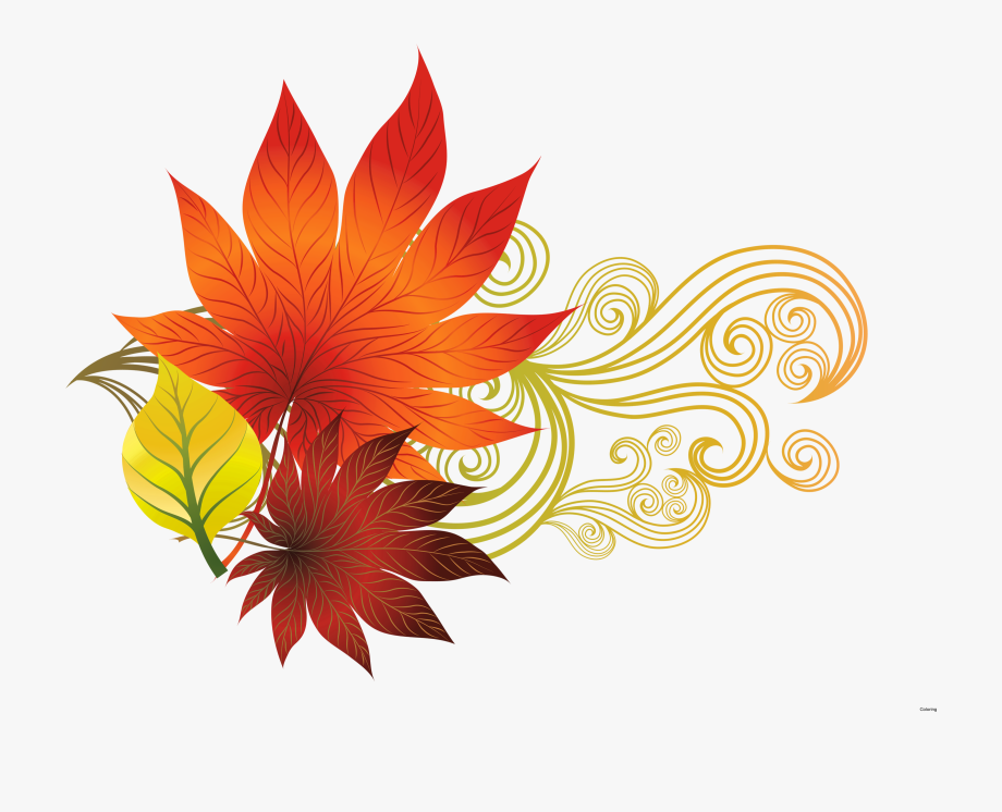 Free clipart autumn leaves with musical notes. Fall border design music