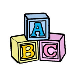 Free clipart baby blocks image free stock ABC BLOCKS | baby wrt | Free baby stuff, Baby blocks, Baby clip art image free stock