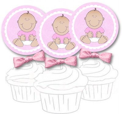 Free clipart baby pink elephants for cupcake toppers clip stock girl cupcake topper - free printable templates for cupcake toppers ... clip stock