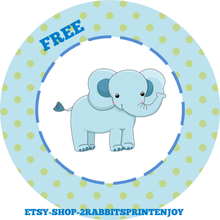Free clipart baby pink elephants for cupcake toppers clip art royalty free library Elephant Baby Shower Inspiration Board - My Practical Baby Shower Guide clip art royalty free library