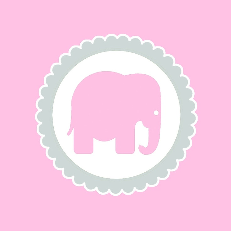 Free clipart baby pink elephants for cupcake toppers graphic black and white stock Free Pictures Of Pink Elephants, Download Free Clip Art, Free Clip ... graphic black and white stock