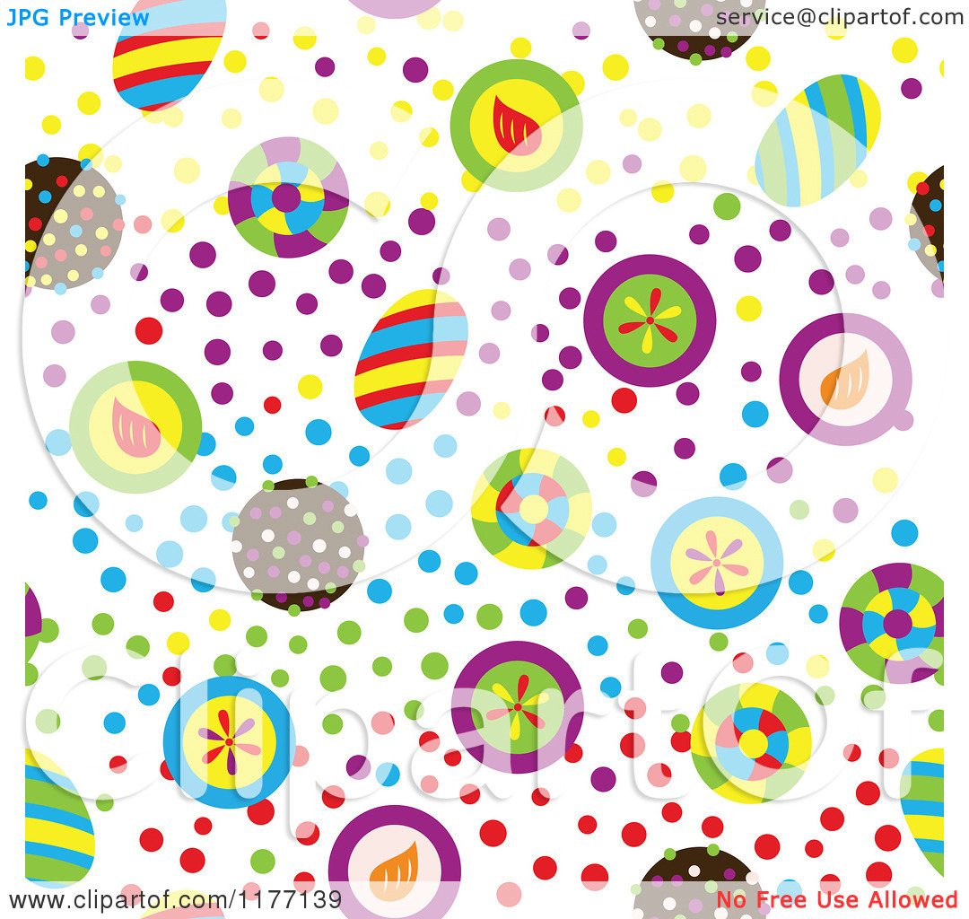 Free clipart background patterns transparent download Clipart of a Seamless Background Pattern of Colorful Candy and ... transparent download