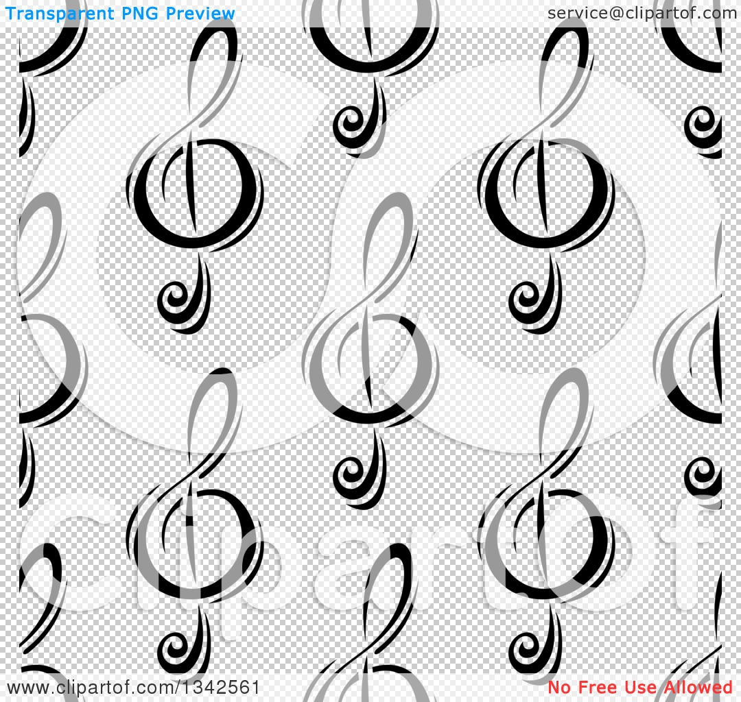Free clipart background patterns clip art black and white library Free clipart background patterns music notes - ClipartFest clip art black and white library