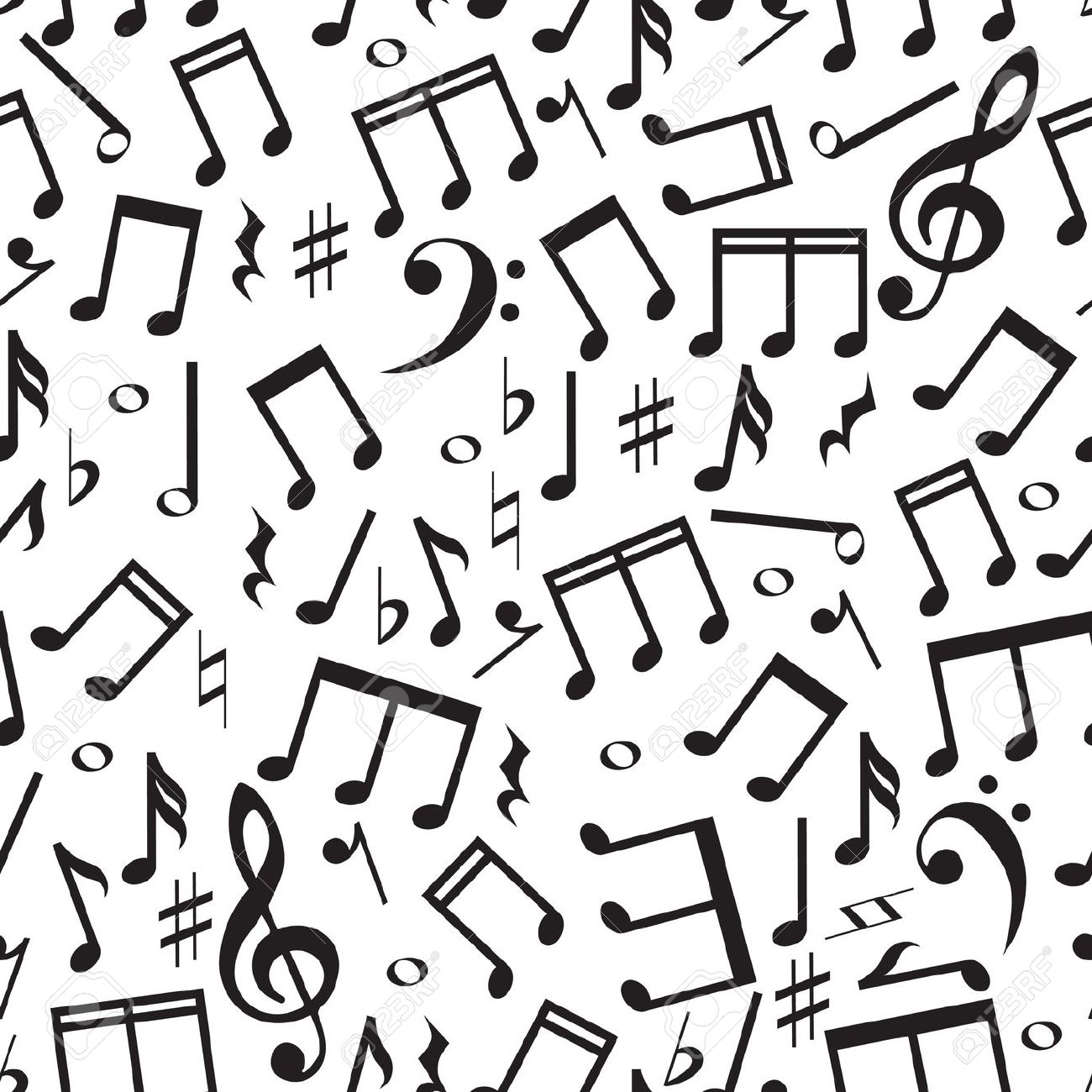 Free clipart background patterns music notes banner free stock Free clipart background patterns music notes - ClipartFest banner free stock