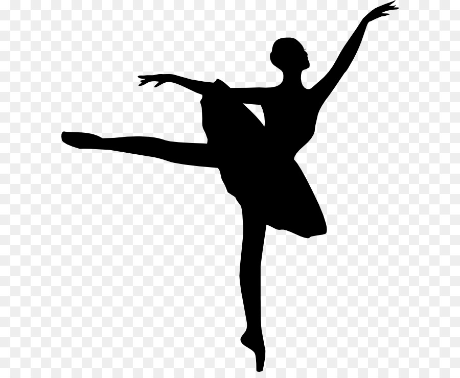 Clipart of ballet dancers vector royalty free stock Modern Background clipart - Dance, transparent clip art vector royalty free stock