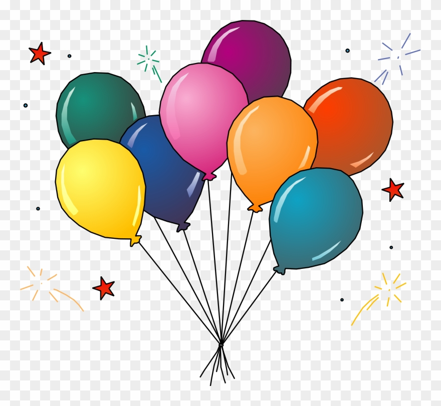Free clipart balloons party clip art freeuse download Party Clip Art Free Free Clipart Images 3 Clipartcow - Balloons Clip ... clip art freeuse download