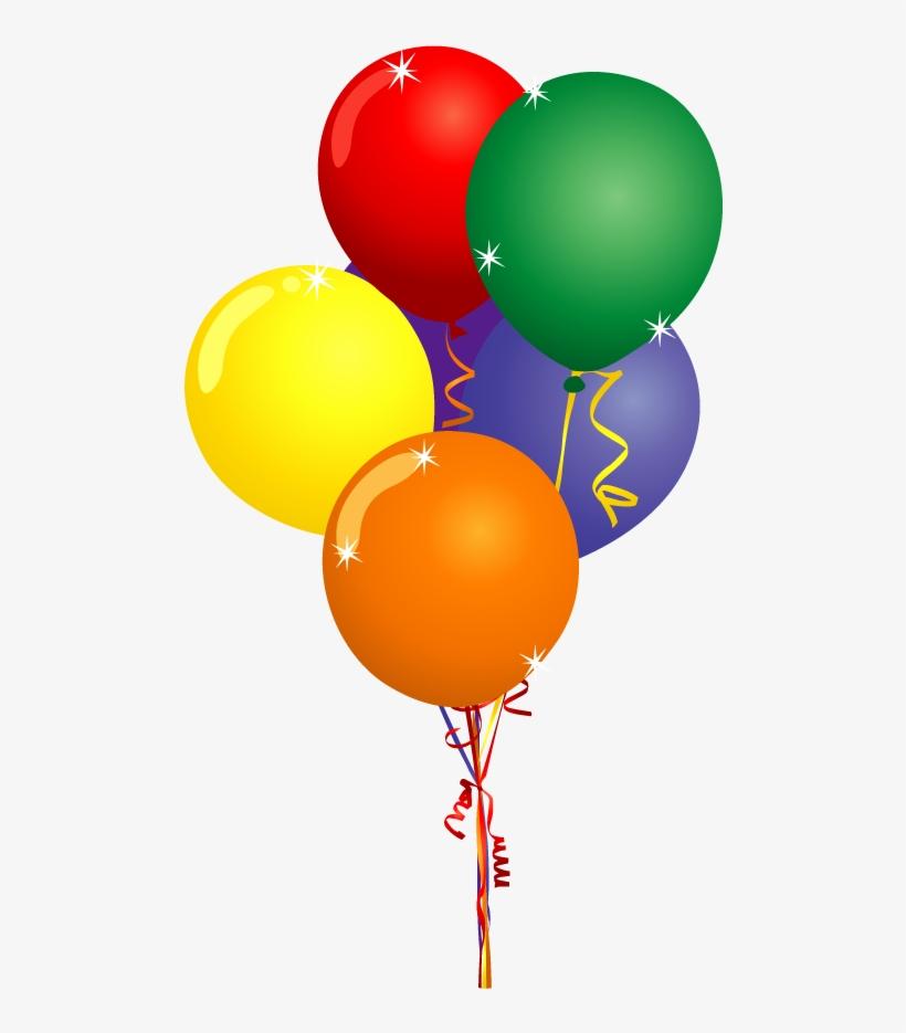 Free clipart balloons party jpg transparent stock Hot Air Balloon Party Clip Art - Birthday Balloons Clipart ... jpg transparent stock