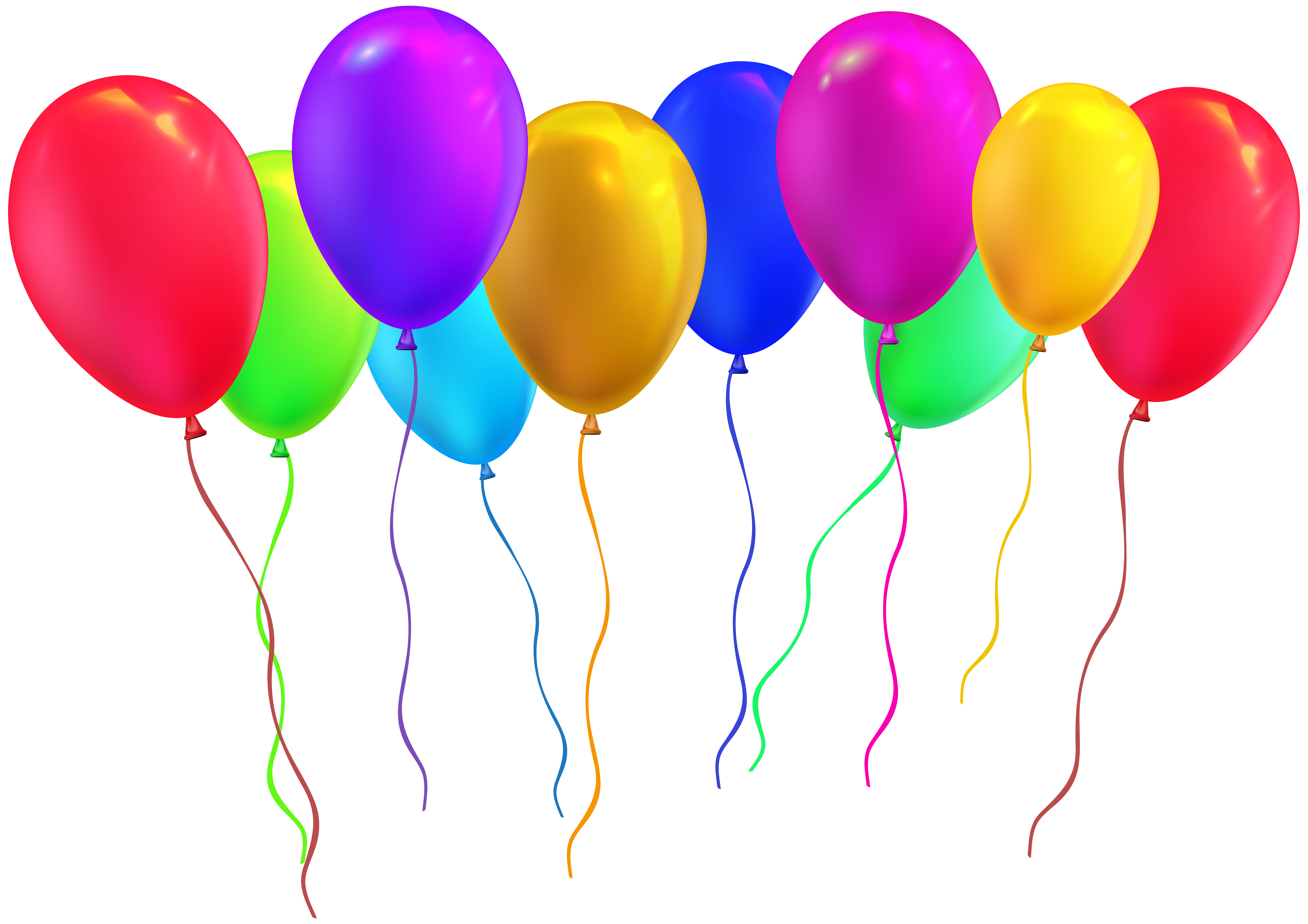 Free clipart balloons party clip library stock Party Balloons PNG Clip Art Image   Gallery Yopriceville - High ... clip library stock