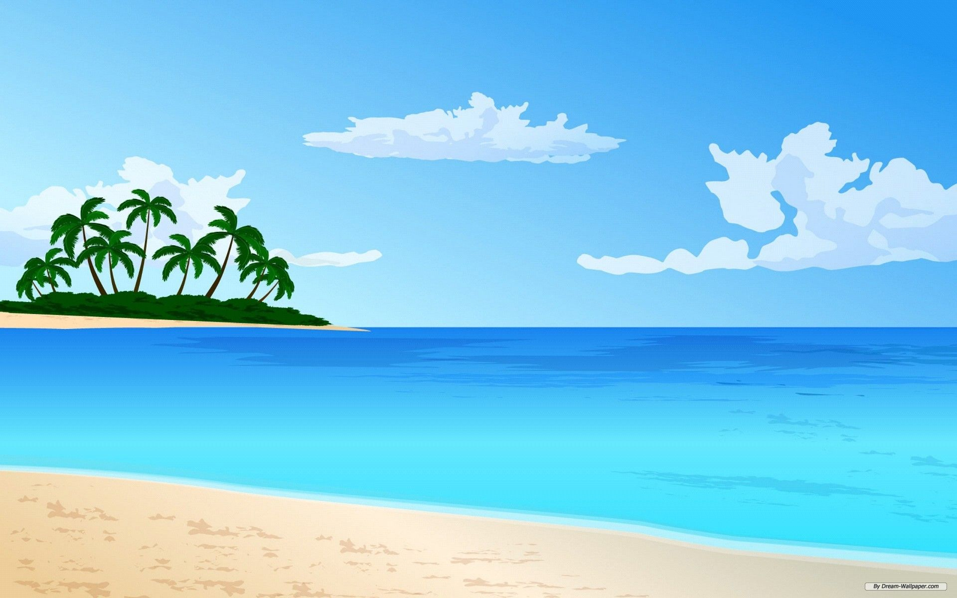 Free clipart beach scenes clip black and white stock Free Wallpaper Free Art Wallpaper Vector Wallpaper 2 Wallpaper ... clip black and white stock