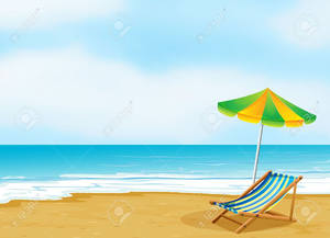 Free clipart beach scenes clip royalty free download Beach Scene Clipart Free | Free Images at Clker.com - vector clip ... clip royalty free download