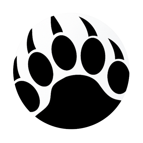 Free clipart bear paw print banner download Grizzly Bear Paw Print | Clipart Panda - Free Clipart Images banner download