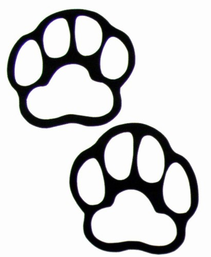 Free clipart bear paw print clipart black and white Grizzly bear paw print clipart clipart free clipart images ... clipart black and white